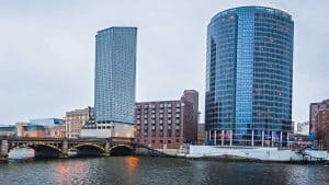 Downtown Grand Rapids, MI + Grand River + Custom Affordable Web Design