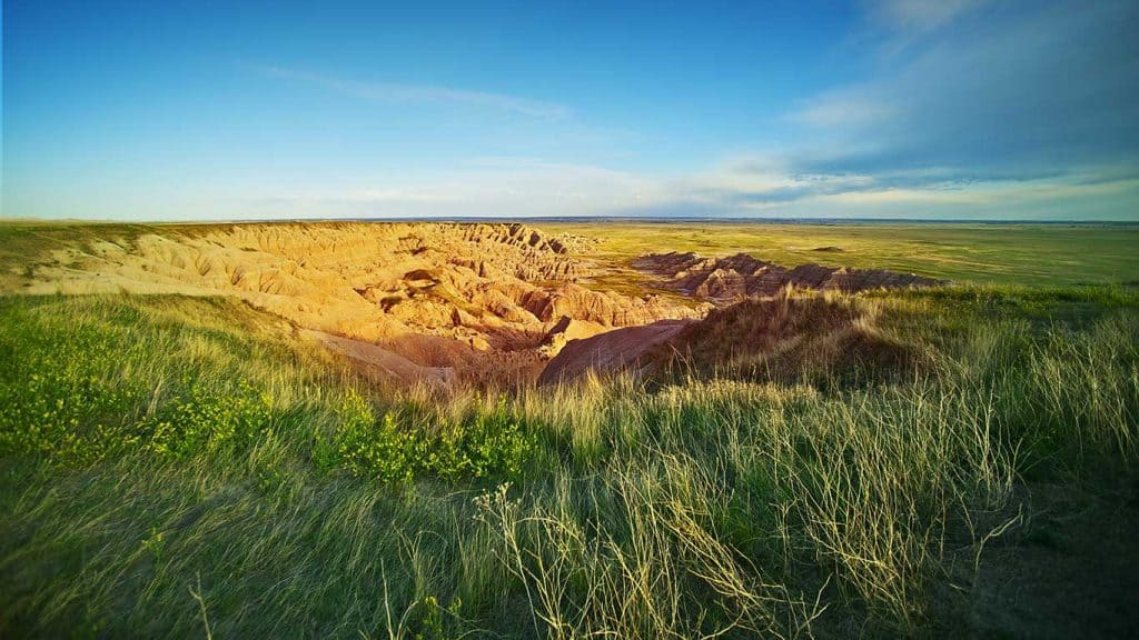 South Dakota Landscape + Custom Affordable Web Design