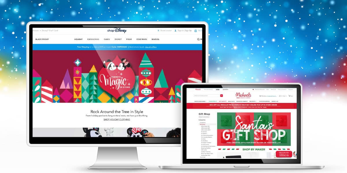 10 Holiday Shopping Website Designs Done Right
