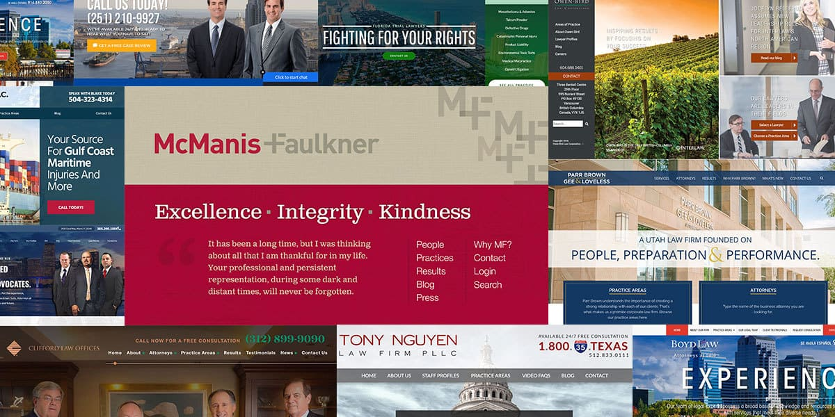 10 Of The Best Law Firm Websites You've Ever Seen