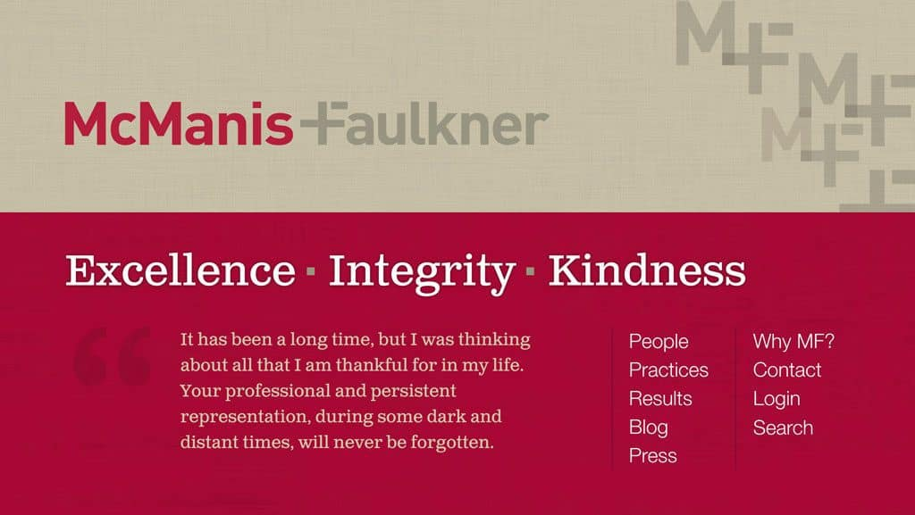 McManis Faulkner Law Firm