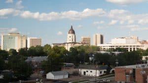 Topeka, Kansas Skyline and Capital Building