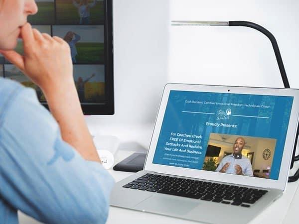 Business Health Coach Website