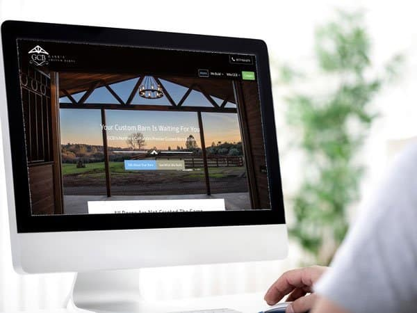 Custom Barn Website
