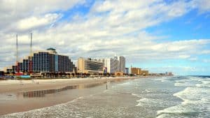 Daytona Beach Florida Ocean Beach and Hotels