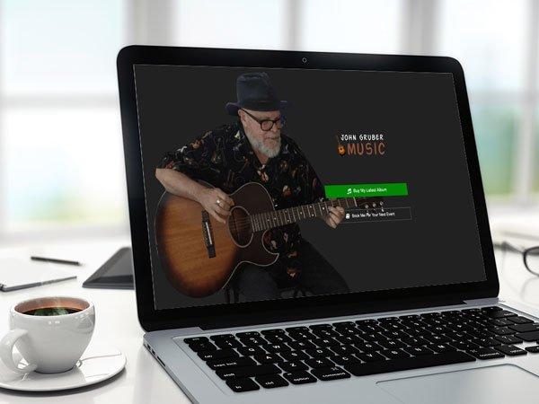 Local Musician Website
