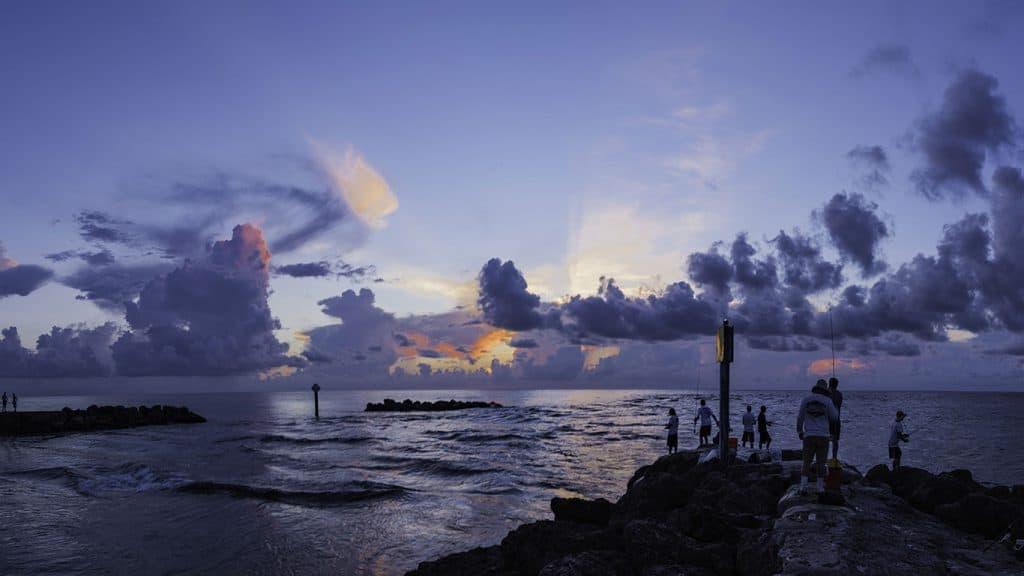 Boca Raton, Florida Sunrise Over The Atlantic Ocean