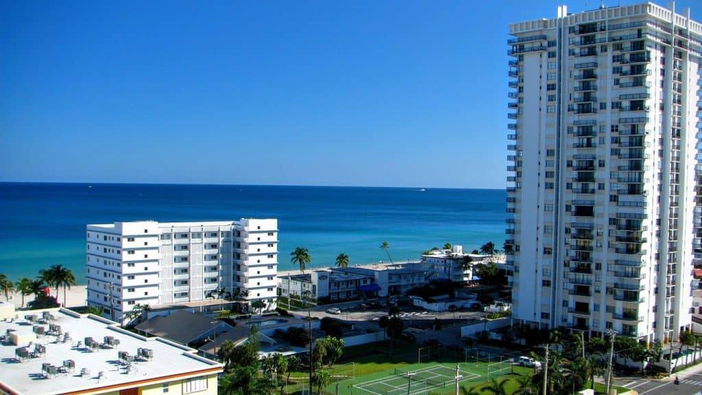 Hollywood, Florida Beach Front Condo on the Atlantic Ocean