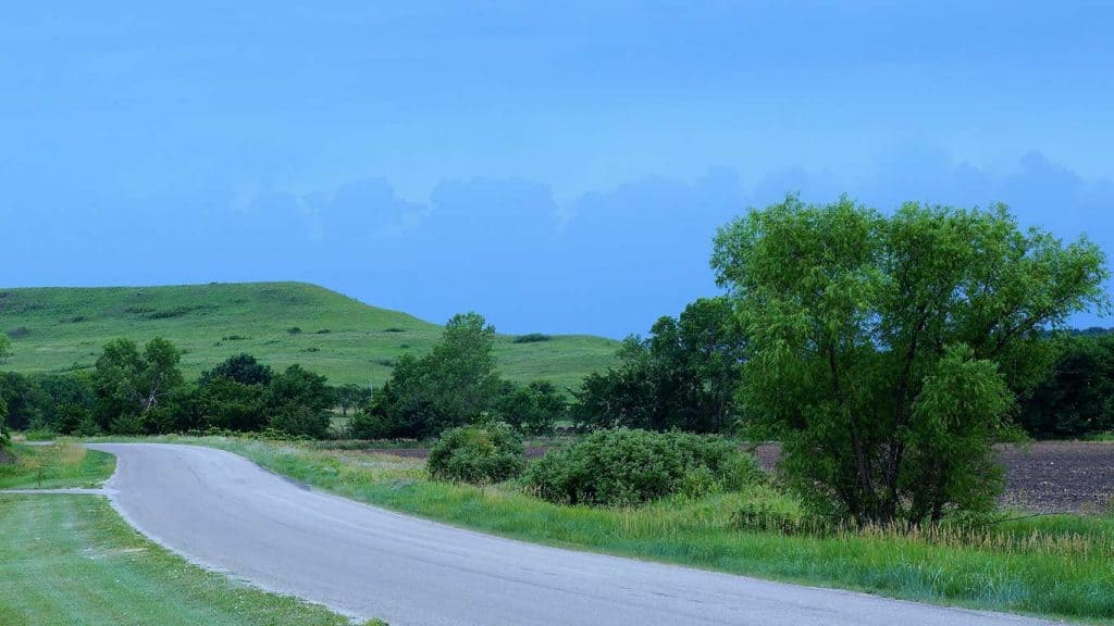 Kansas Scenic Country Byway
