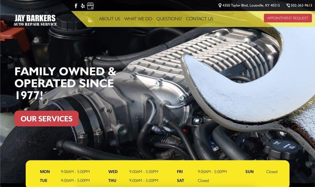 Jay Barkers Auto Repair Service - Louisville, Kentucky