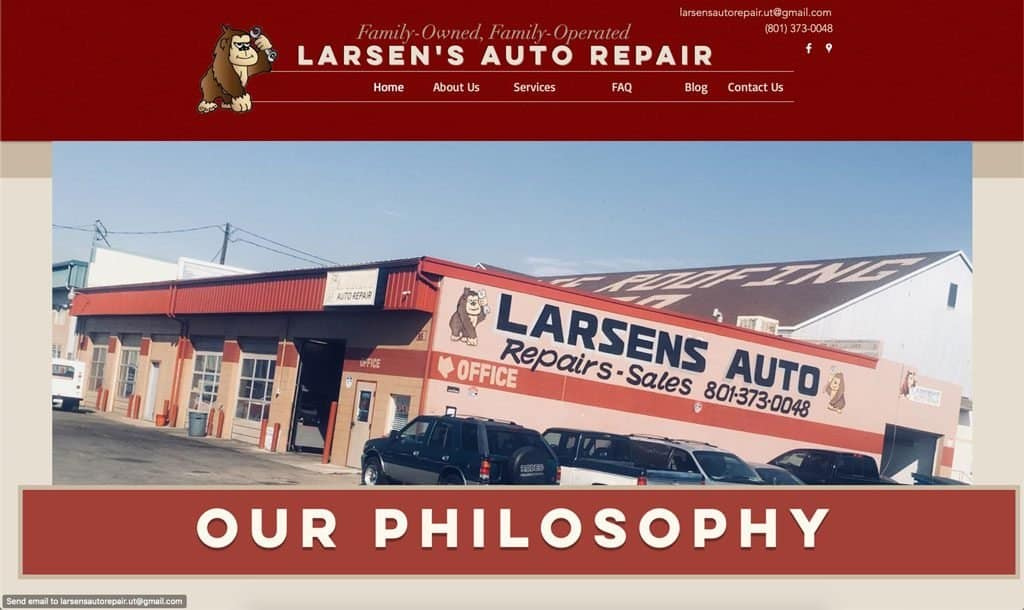 Larsen's Auto Repair - Provo, Utah