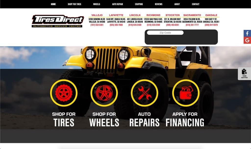 Tires Direct - Sacramento, California