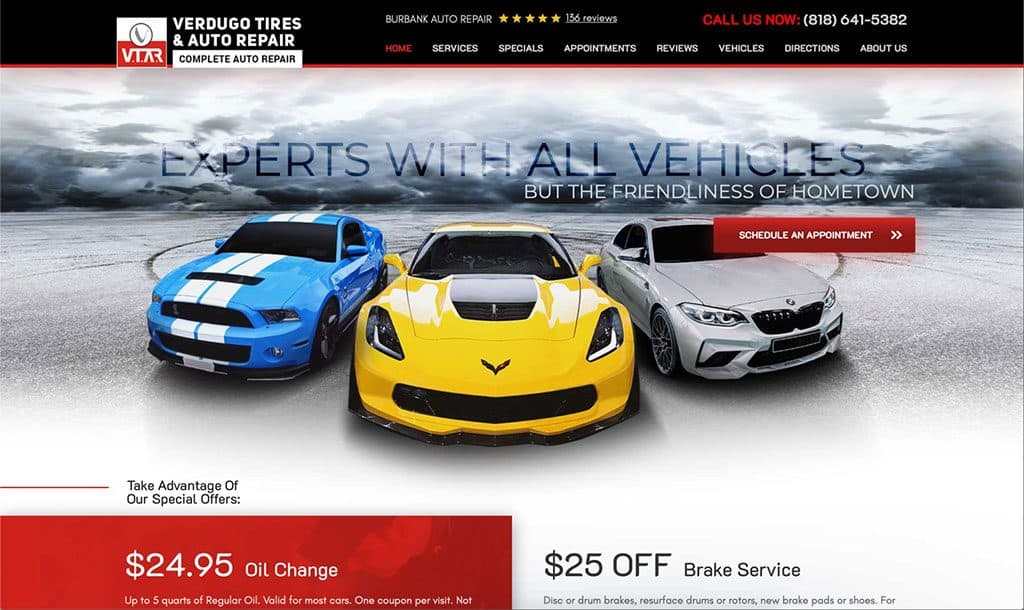 Verdugo Tires & Auto Repair - Burbank, California