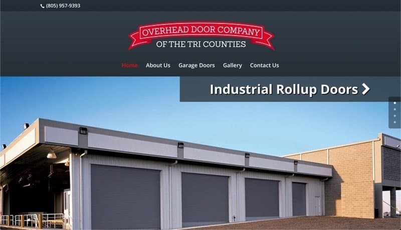 Overhead Door Company of the Tri Counties in Santa Barbara, California