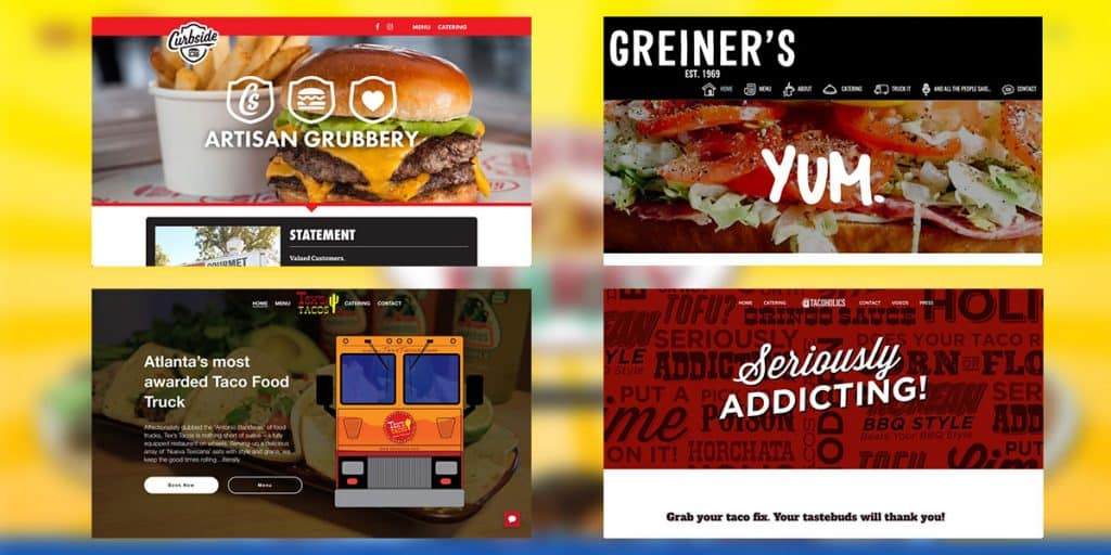 Best Food Truck Websites