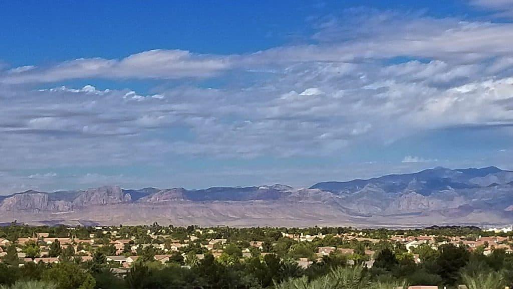 Henderson, Nevada Desert Mountains