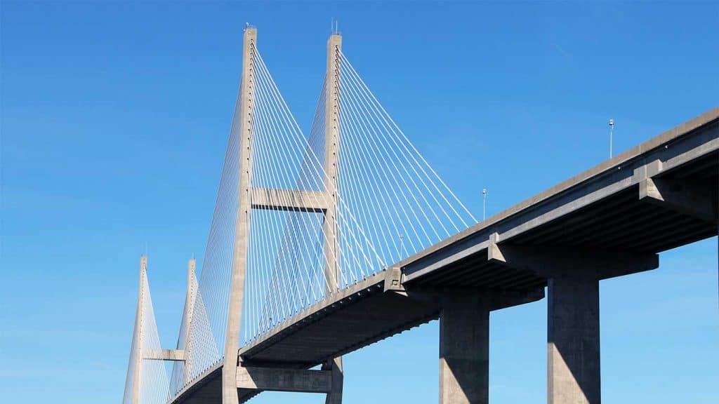 Sidney Lanier Bridge in Brunswick, GA