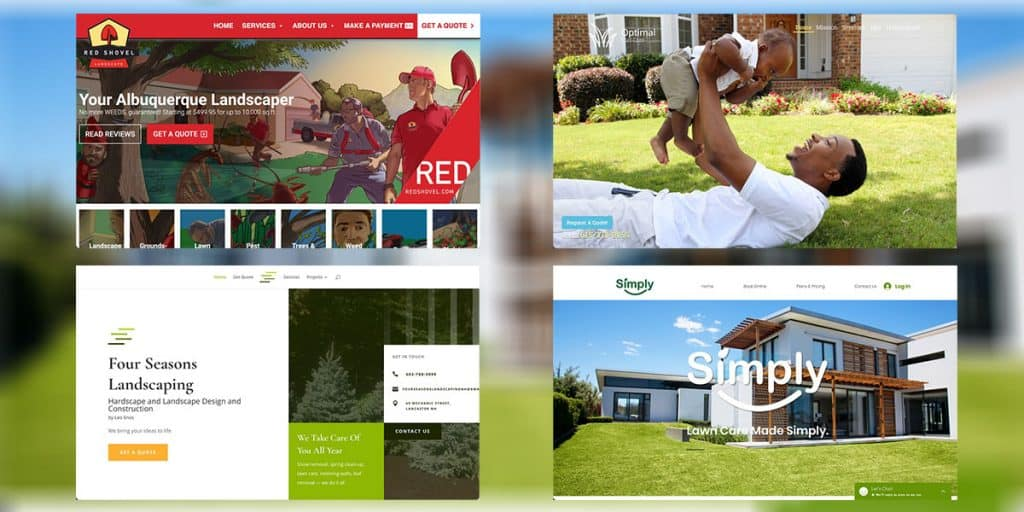 Top Yard Care Service Website