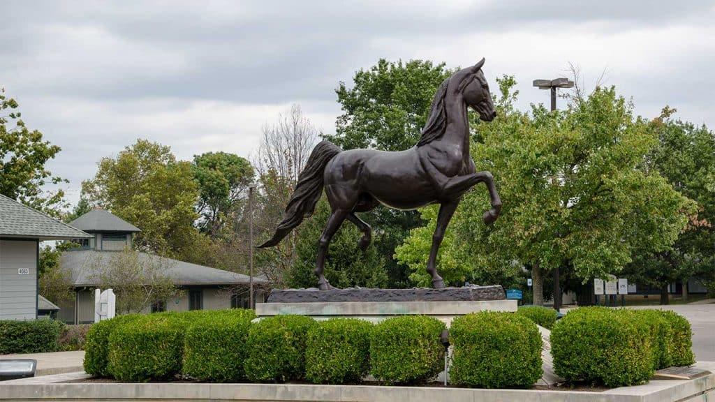 Kentucky Horse Park Statue in Lexington, KY
